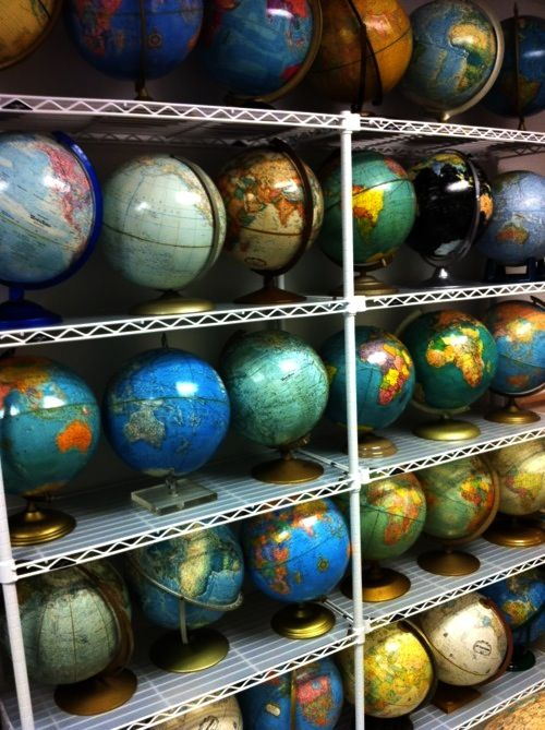 So many different globes