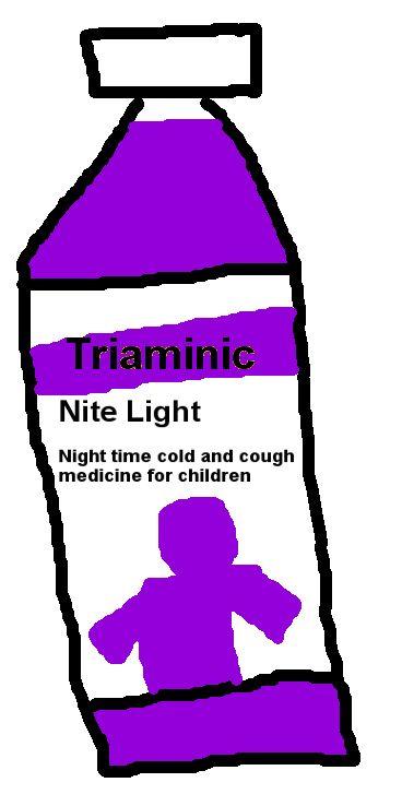 Triaminic Nite Light bottle by PikachuxAsh