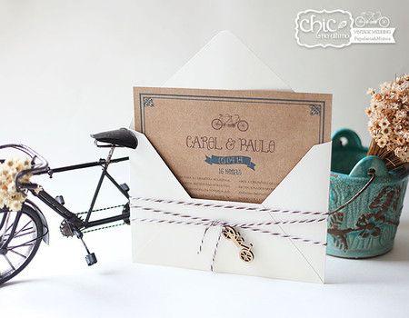 Bicicleta - 22X15,5cm - CHIC no Último
