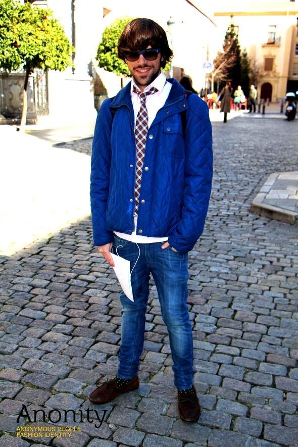 Corbata de cuadros | Imagen 6 | #Hombre #Camisa #Corbata