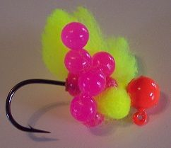 Artificial Salmon and Trout Eggs - Bait for Salmon, Steelhead and Trout