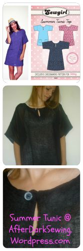 SewGirl Summer Tunic / Kaftan / Cover-Up