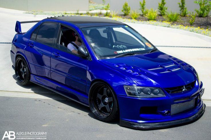 Electric Blue Evo