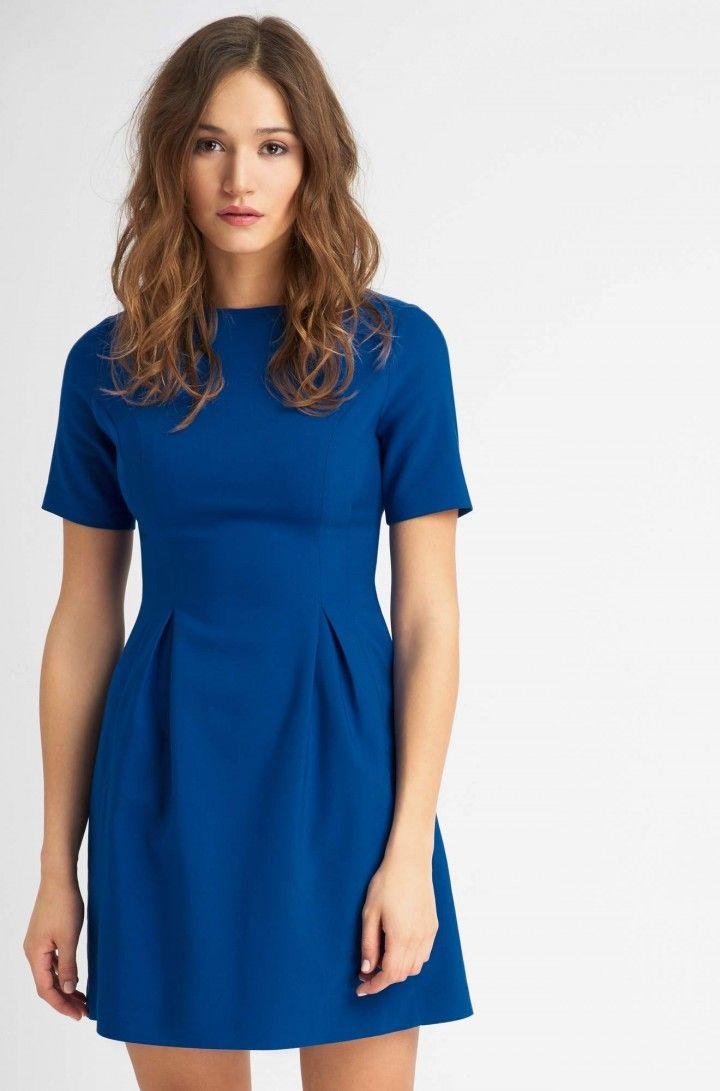 Rozkloszowana sukienka mini | ORSAY