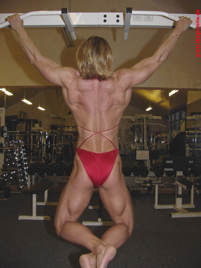 Sexy nude crossfit women