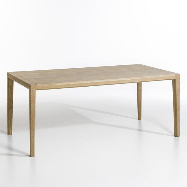 Table rectangulaire Nizou, design Emmanuel Gallina AM.PM