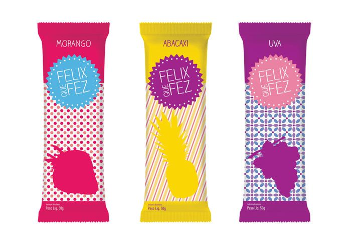 Latte Design conducted an experimental project involving naming and branding for a manufacturer of inexpensive ice-creams in Brazil.