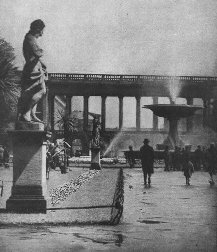 Ogród Saski - fontanna Marconiego