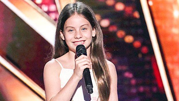 Agt Recap Jay Leno Slams Golden Buzzer For Incredible 10 Year Old Opera Singer Emanne Beasha America S Got Talent Hollywood Life Nbc