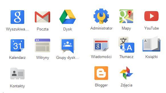 Korzyści z Google Apps