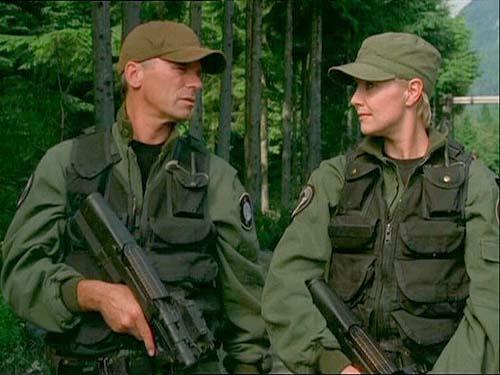 "Jack and Sam from ""Stargate SG-1"""