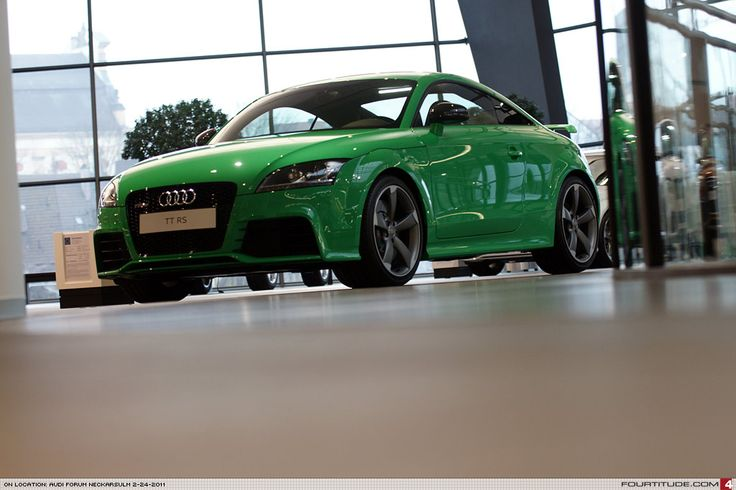 Audi TT RS....Green is good....