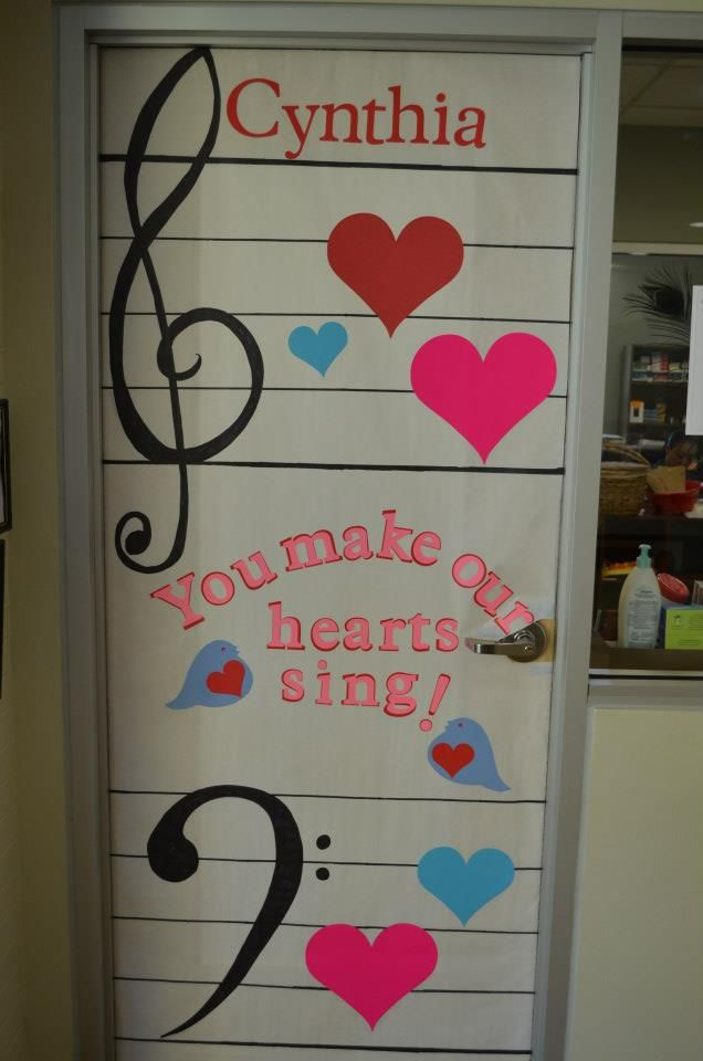 Music Classroom Decor Ideas ~ Best teacher appreciation doors images on pinterest