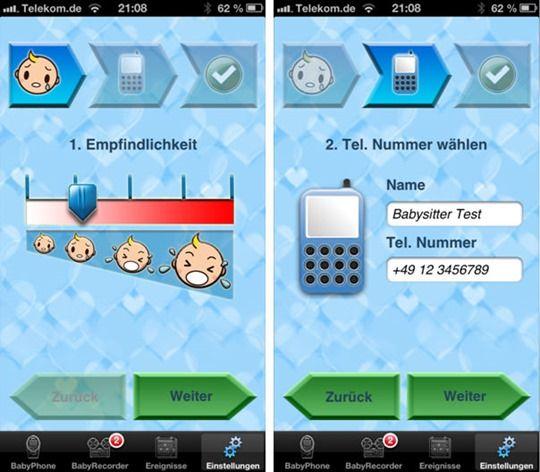 Babyphone Deluxe App iPhone 6