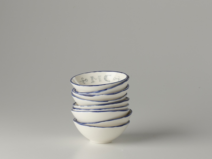 A Stack of Small Bowls