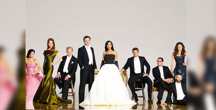 Scandal' season 4 cast photo depicts everyone dressed to impress
