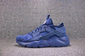 Mens Nike Air Huarache Ultra ID Suede Navy Blue 829669 332 Running Shoes 1c8530cb0