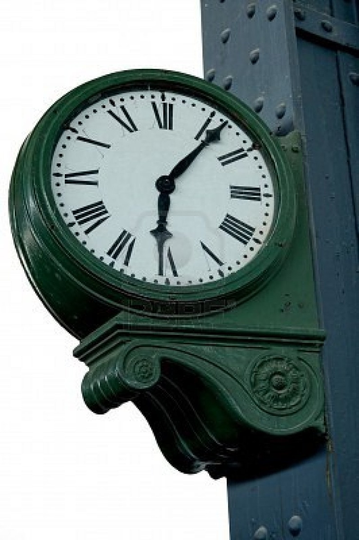 old train station clock                                                                                                                                                     More