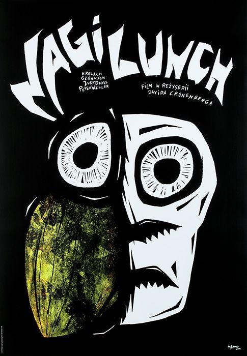 Marta Szmyd, Nagi lunch (Naked Lunch, Directed by David Cronenberg), 2015, Size: B1