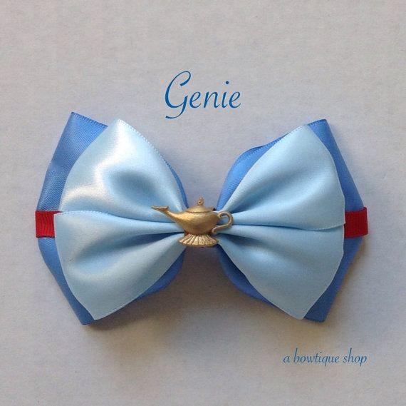 genie hair bow by abowtiqueshop on Etsy, $6.50 aladdin