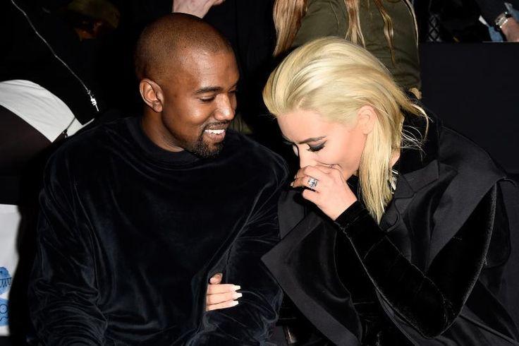 Amid Divorce Rumors, Kim Kardashian Spotted Kissing Kanye West