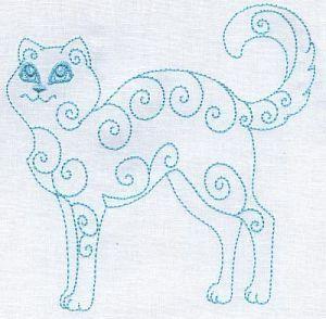 Kurly Kittens - Starlight Dreams   OregonPatchWorks