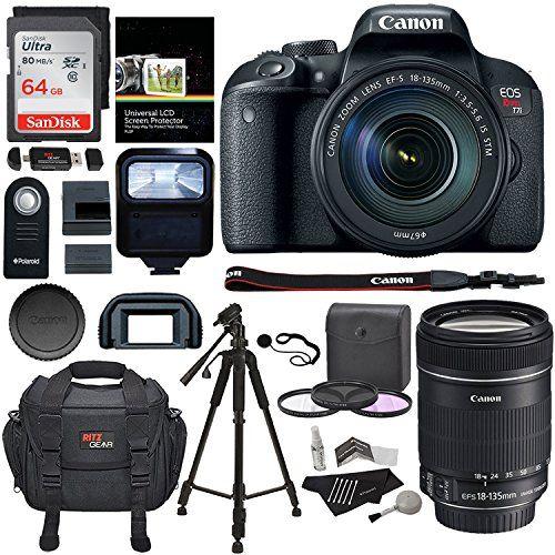 For the best CAMERA deals visit us: Canon EOS REBEL T7i - Killa Deals