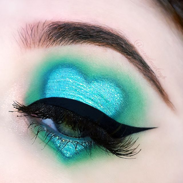 Ariel Make Up ~ Make Up & Beauty with a Princess Touch: ♕ The Mermaid Series ~ Mermaid Heart ♕{Inspired by Laura Beth ~ @theclassicalmua}