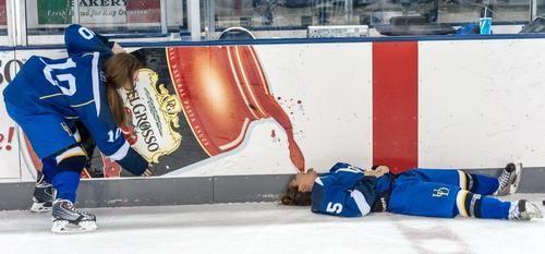 Glug! #hockey