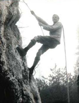 Paul Preuss. Long wollen socks
