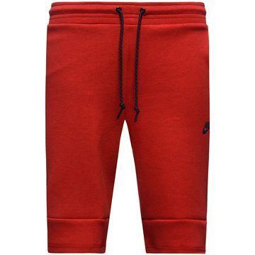 Deze gave Nike Tech Fleece unisex shorts in het rood vind je nu ook in de uitverkoop! #sport #fit #relax #uitverkoop #sale #dames #heren #shorts #broek #nike #tech #fleece #red #rood