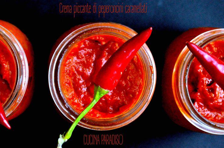 Crema piccante di peperoncini caramellati2