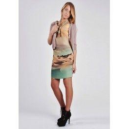 Vestido curioso estampado Alba Conde - Lucia Moda