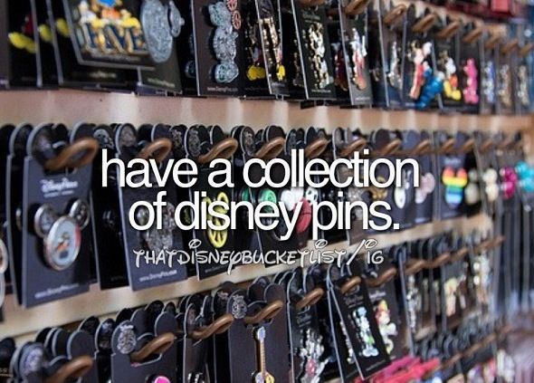 Disney Pins! {We already collect pins for every trip we go on. Is there a better way to add to our collection? ;)