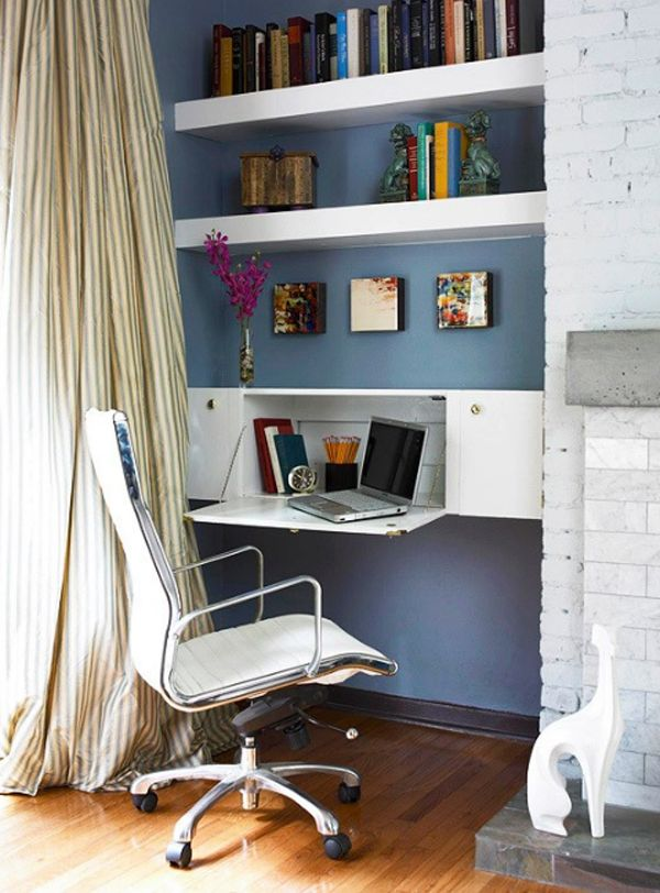 Small And Minimalist Home Office Room Ideas