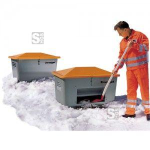 Streupflicht  #Schneeschaufeln #Streugut #Streugutbehälter #Streupflicht #Streuwagen