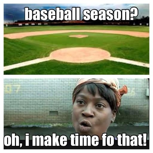 I always got time for St. Louis Cardinals basesball!