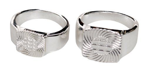 Find-Its Ring Blanks Sterling Silver Plated Jewelry Find-Its