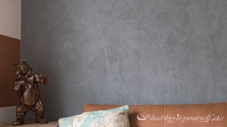 Ich habe mein Wohnzimmer mit Alpina Beton-Optik gestrichen. Hier zeige ich Euch, was Ihr beachten solltet und wie die Struktur perfekt wird - inkl. Video.