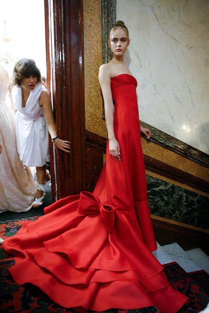 Valentino BackStage Haute Couture Show Paris Fall Winter 2010.