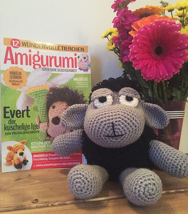 Free amigurumi sheep #crochet pattern
