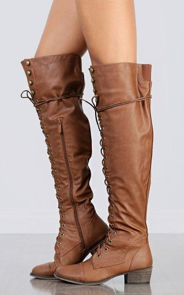 2013 Hot Over Knee Lace Up Riding Boots #over #knee #boots www.loveitsomuch.com