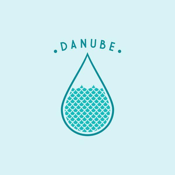 danube by Alexandra Rusu, via Behance