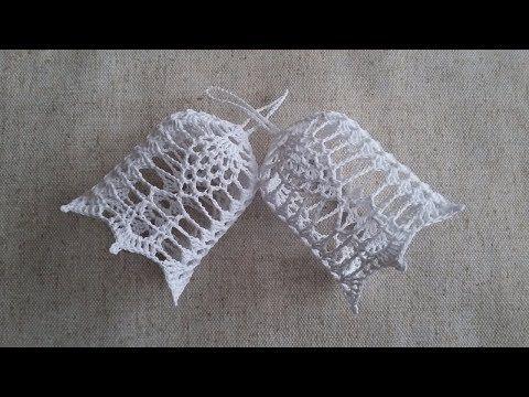 Jak zrobić dzwonek na szydełku - Wzór 6 - YouTube