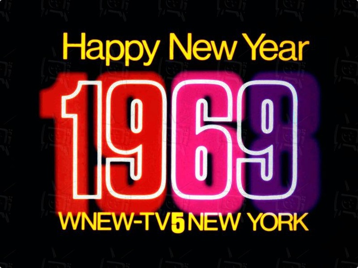 WNEW New Years 1969 Classic television, Newyear, Gaming