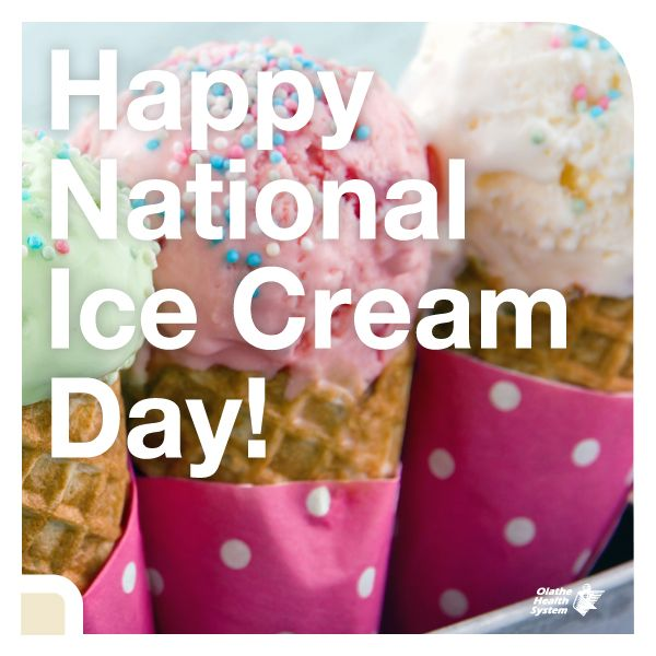 Celebrate National Ice Cream Day with these healthful treats.