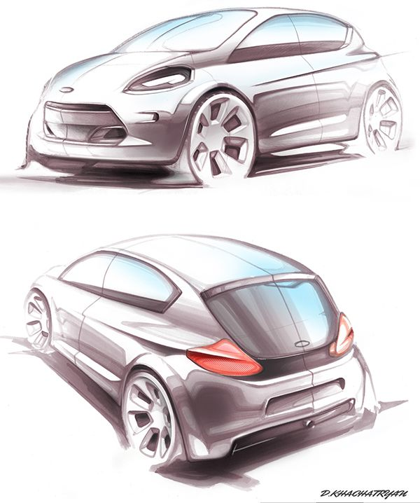 Need to see more of these types of practical drawings and less sports cars