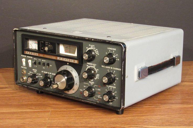 Yaesu Model ft 101B Ham Radio Transceiver | eBay