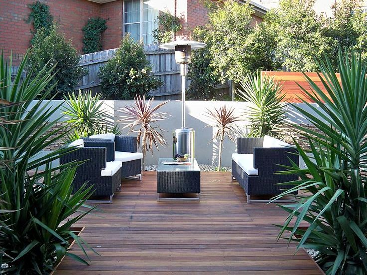 48 best decking images on pinterest photos of decking for Courtyard gardens australia