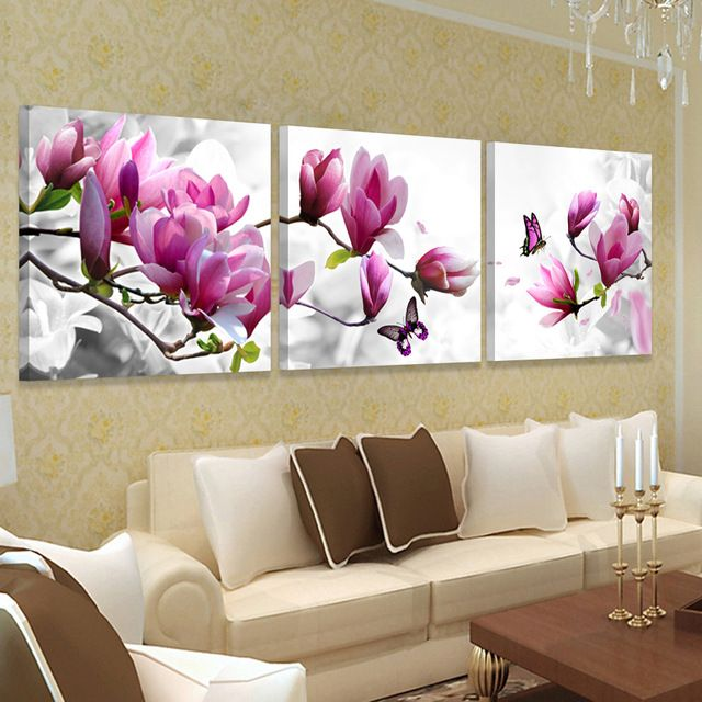 picture wall art hd print canvas oil orchid painting flower pictures for bedroom modern paintings cuadros abstractos No frame